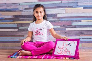 Big Sister Рая - персонализирана блуза за големи сестри
