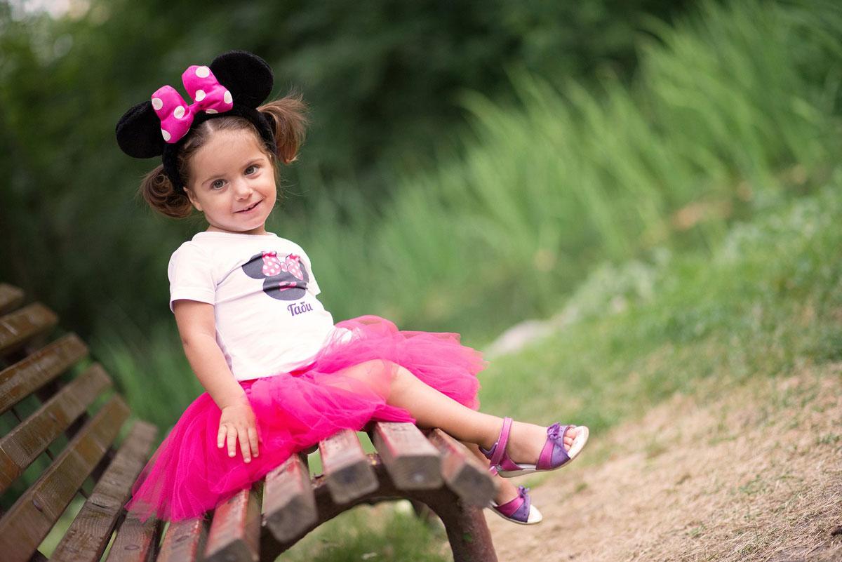 Детски туту комплект Мини Маус за момичета