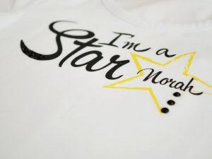 I am a star блуза за момичета с кристали
