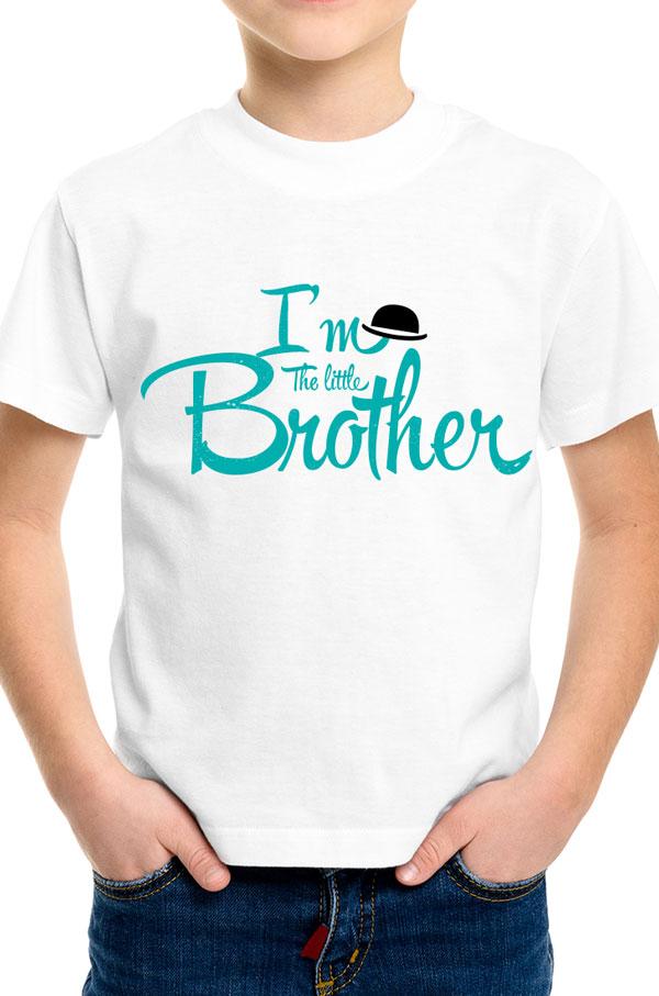 I am the Little Borther тениска за малки братя