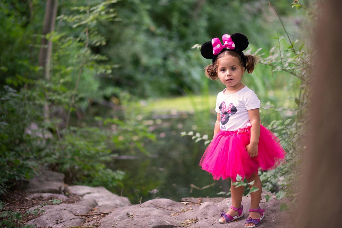 Minnie Mouse туту пола и блузка за малки дами