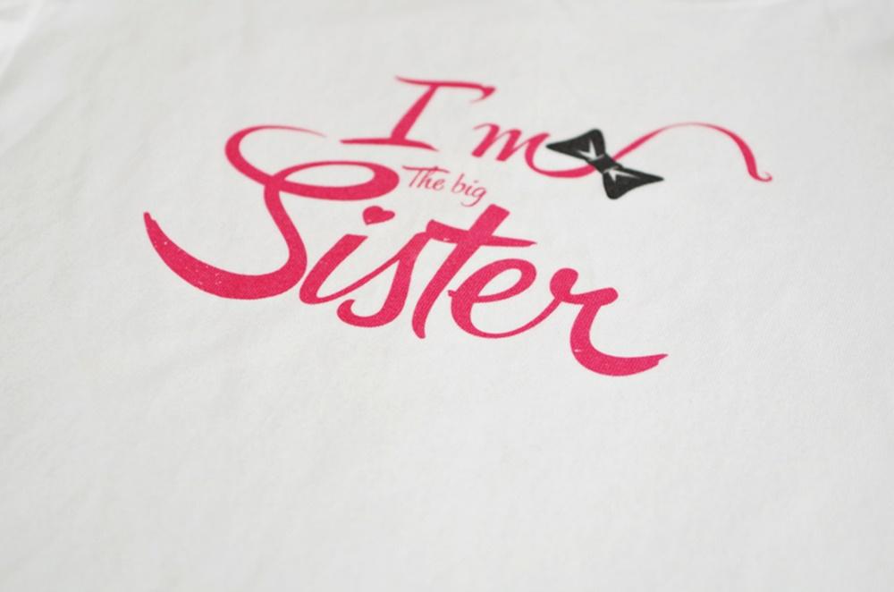 Big Sister - тениска за големи сестри