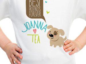 Блузка за добри приятелки със сладко куче