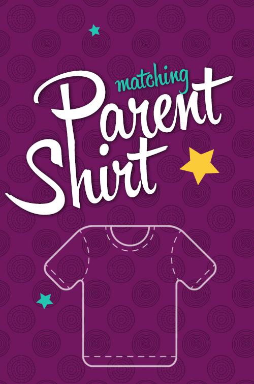 Персонализирана блуза за родители с къс ръкав