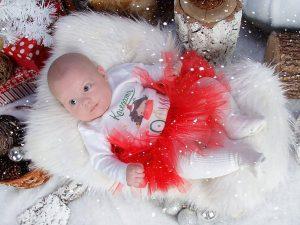 Коледата на София - детски туту комплект