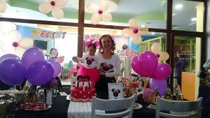 Мини Маус комплект за майка и бебе - Рожден ден Яна