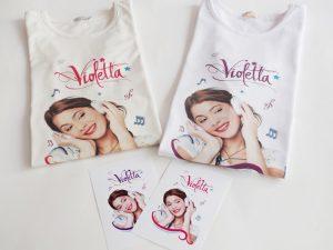 Блузки с героинята от сериала Violetta