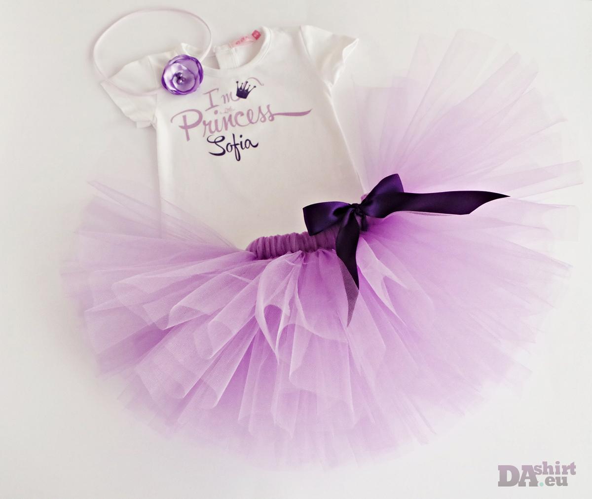Детски комплект Little Princess в лилаво