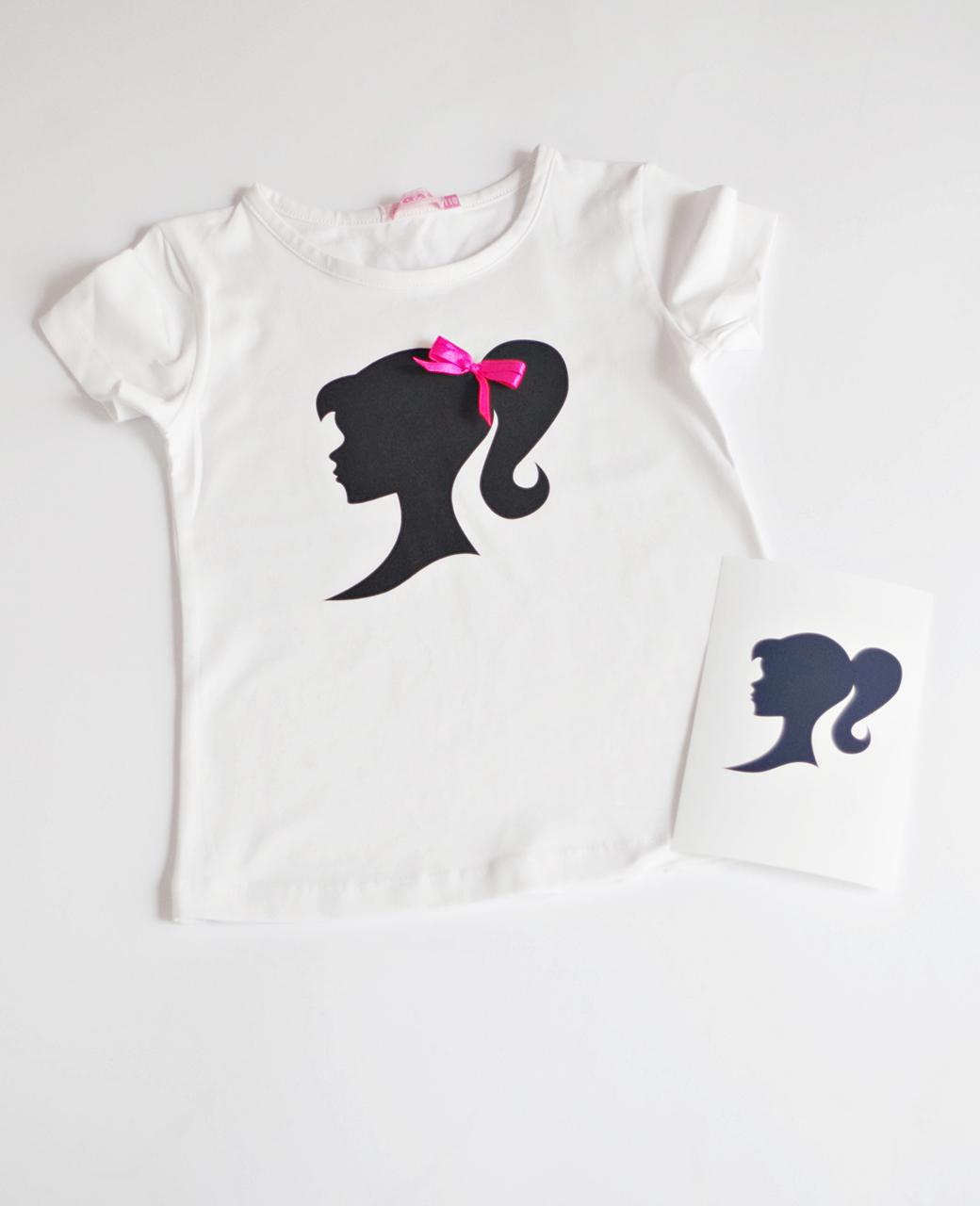 Детска блузка Барби персонализирана