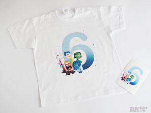 Детска блуза за рожден ден с Inside Out