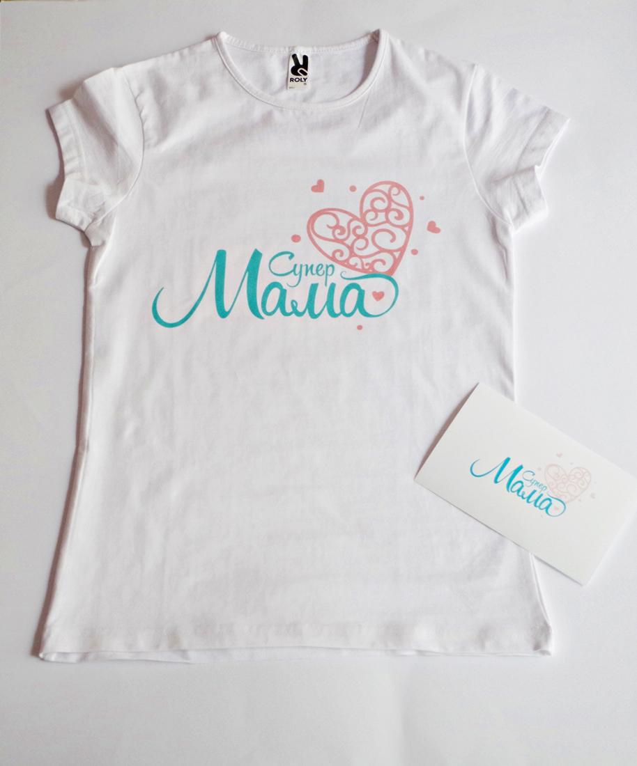 Дамска блуза с надпис Супер Мама