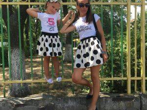 Birthday Girl комплект от блузки за майка и дъщеря