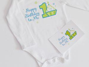 бебешко боди за рожден ден Happy Birthday to me