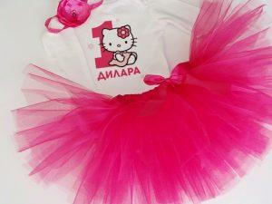 Hello Kitty туту комплект за рожден ден