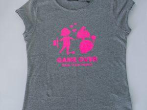 Блуза за моминско парти Game Over