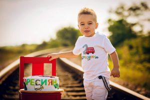 Детска блуза за рожден ден с име Пресиян