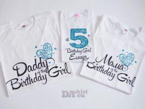 Комплект за цялото семейство Birthday Girl