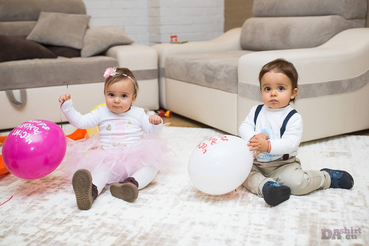 Рая и самуил с блузки за рожден ден за близнаци