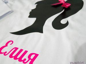Детска блуза Барби с име