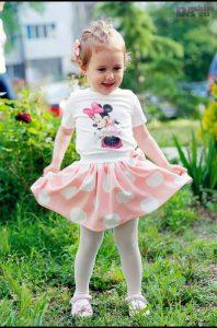 Комплект пола и блузка Мини Маус