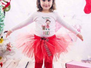 Ника с блуза Коледен Елф