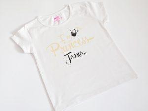Персонализирана блузка Little Princess с име