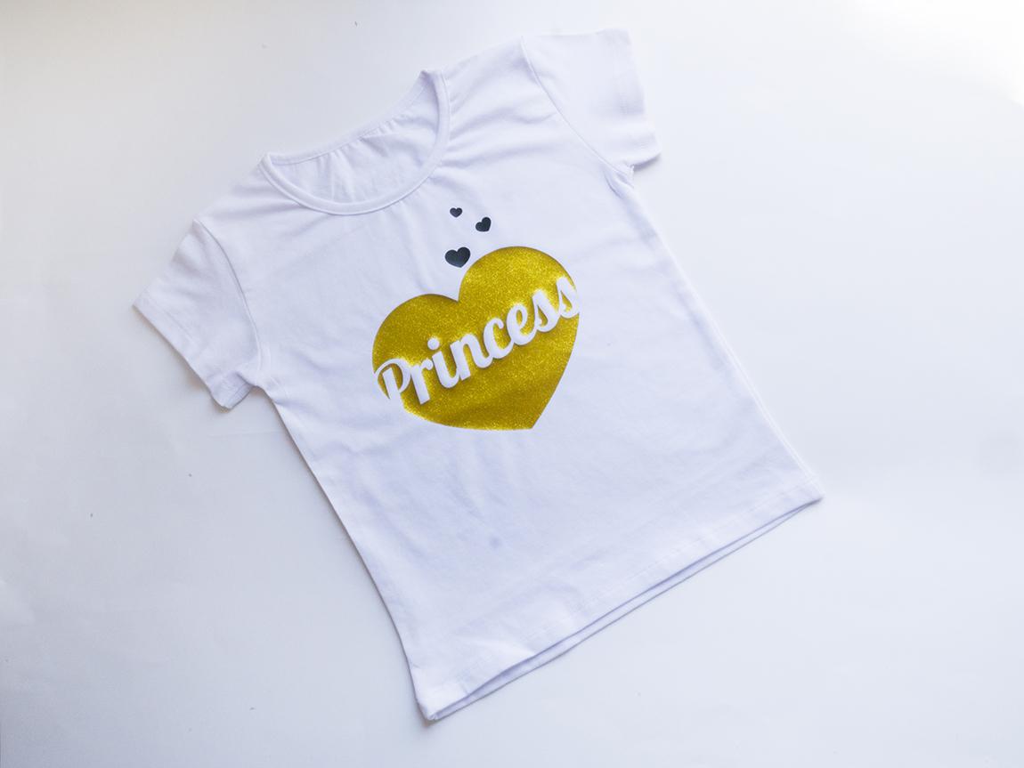 Персонализирана детска блуза принцеса с име