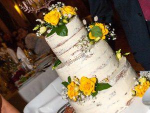 Дървен топер за сватбена торта семейство Митеви