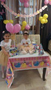 Принцеса и Кралица в розово и златно