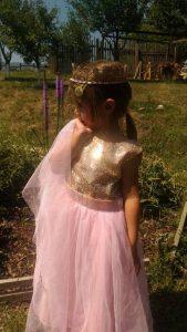 Златна корона от дантела