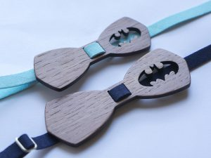 Папийонки батман за баща и син