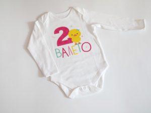 детска блузка с пате и име и години на детето